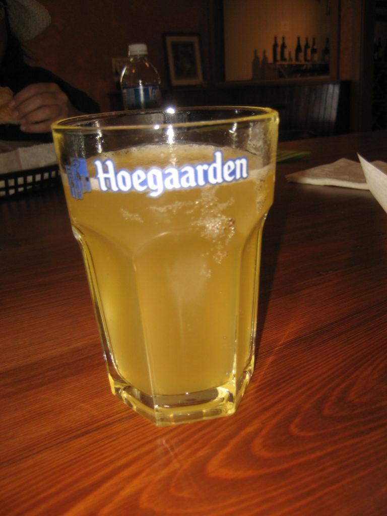 AlgiersNOLAVineDineHoegaardenGlass